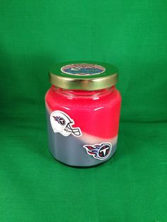 Titans candle by RIAsCandles on Etsy