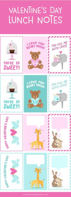 11 Printable Valentines Cards Boys & Girls Will Love | Valentine ...