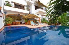 South Zone Vacation Rental - VRBO 13339 - 5 BR Puerto Vallarta Villa in Mexico, Luxury Beachfront 5-BR Villa, Full Staff,
