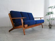 getamaGE290 3-p sofa in Teak