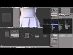 blender dress workflow - YouTube