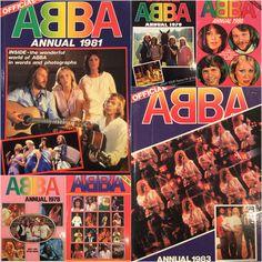 ABBA Fans Blog: Collection - Abba Annuals 1978 - 1983 #Abba #Agnetha #Frida http://abbafansblog.blogspot.co.uk/2015/07/collection-abba-annuals-1978-1982.html