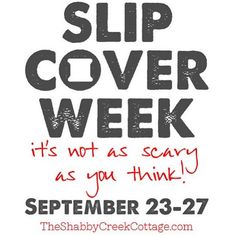 Slipcover Week: How to make slipcovers with an eight part step by step series. Highly detailed, free tutorial on slipcovering couches or chairs. Fabric Crafts, Sewing Crafts, Sewing Projects, Diy Projects, Furniture Projects, Diy Furniture, Sewing Hacks, Sewing Tutorials, Learn To Sew