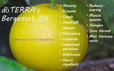 Doterra Bergamot Oil Healing at home www.facebook.com/HealingAtHome