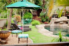 Palm Gardens Guest House Bed & Breakfast in La Lucia, Durban, KZN Palm Gardens Guest House offers luxury facilities, is private and secure and close to all amenities. See more of this fabulous B&B on http://www.wheretostay.co.za/palmgardensguesthouse/