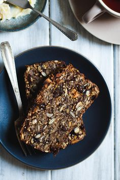 Cinnamon Raisin Seed and Nut Bread (Gluten-free & Vegan)
