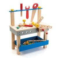 Établi de bricolage avec ses outils Bricoltou
