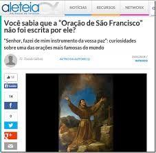 Resultado de imagem para ORAÇÃO DE SÃO FRANCISCO COM FOTO