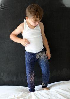 Fancy pants leggings- galaxy DIY- so cool!