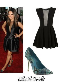 What the Frock? - Affordable Fashion Tips and Trends: Celebrity Look for Less: Mila Kunis Style