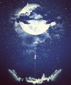#goodnight #me #people #moon
