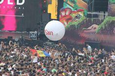 UNTOLD, Day 1. Untold Festival, Like Mike, David Guetta, Avicii, Armin, Concerts, Festivals, Times Square, City