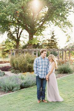 Sweet Garden Engagement - Coastal Bride