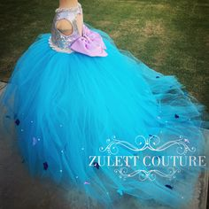 Cumpleaños bautismo lentejuelas Vestido por ZulettBridalBoutique