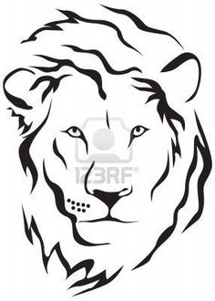 42879362a 45 best Simple Lion Head Tattoo Art images in 2017 | Lion head ...