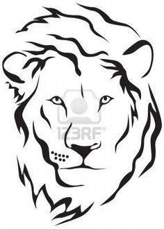 45 Best Simple Lion Head Tattoo Art Images Lion Head Tattoos