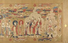 This scroll illustrates a local gods process through his inauguration into the Daoist pantheon.   Title: Investiture of a Daoist Deity Date & Place:  inscription dated 1641,China    Unidentified Artist Chinese, 16th–early 17th century