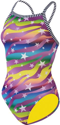 How great does the Dolfin Starlite suit look!? Now available on SwimmersChoice.com for $32