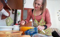 Le ricette dei lettori. Torta di mele con noci e semi tostati di Emanuela Caria