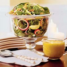 Autumn Salad With Maple-Cider Vinaigrette by Southern Living