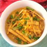 Crock-Pot Creamy Chicken Tortilla Soup {via CrockPotLadies.com} – This easy and delicious recipe is full of Southwest flavor. This recipe allows you to put dinner on the table with ease. A creamy and cheesy soup filled with tender chicken, black beans and corn. Top the soup with your favorite toppings such as sour cream, additional cheese, sliced avocado, cilantro and crispy tortilla strips.