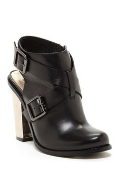 66ee4e7f690 Remi Leather Slingback Bootie