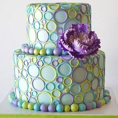 I want to add little sticks with ready to pop on the top...  Bubble cake