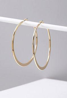 Classic Hoop Earrings | Forever 21 - 1000130419