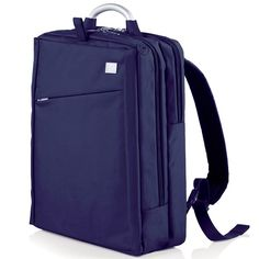 Lexon - Airline Double Back Pack design by Marco Pulga & Luca Artioli / Concept René Adda / x Microfiber or Wool Inex, EPO Backing PVC Free & Lining (material) Computer Backpack, Computer Case, Laptop Bag, Lexon Design, Backpacking Hammock, Leather Briefcase, Laptop Accessories, Business Travel, Backpacks