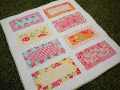 A Quilting Life: On the Boardwalk by Kimberly Jolly using Marmalade Fabric