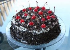 Black Forest Cake -  (Schwarzwälderkirschtorte)... Heaven, absolute Heaven....and pretty darn easy to bake.