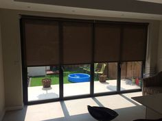 Electric Blinds Look Fantastic Blinds For Bifold Doors, Oak Framed Extensions, Types Of Blinds, Electric Blinds, Roof Lantern, Roof Light, Patio Doors, Cool Rooms, New Builds