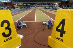Nice shot of Lynx ReacTime in use at the 2016 NCAA Indoor Championships via Flash Results, Inc.