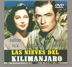 Las nieves del Kilimanjaro (1952) EEUU. Dir: Henry King. Drama. África. Guerra Civil - DVD CINE 20