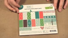 Ep. 996 - Lawn Fawn Snow Day Collection - scraptimevideos
