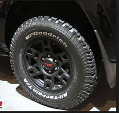 TRD wheel and tire package $1,750 Wheels And Tires, Fj Cruiser Mods, Mustang Wheels, Wheel And Tire Packages, Toyota 4x4, Chrome Wheels, Bike Wheel, Trd