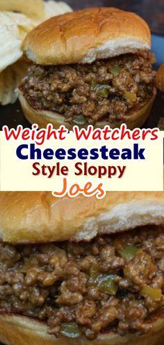 Cheesesteak Style Sloppy Joes   - Keto    #Cheesesteak #joes #Keto #sloppy #Style