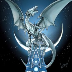 Blue-Eyes White Dragon was the first Dragon-Type monster ever created in Yugioh the Trading Card Game! See where it all began and the starting point to a great dynasty-the Yugioh Dragons. Learn all about Blue-Eyes White Dragon now!