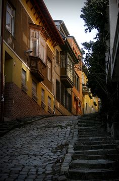Gül Baba Street, charming place next to the Gül Baba's Tomb - Budapest, Hungary