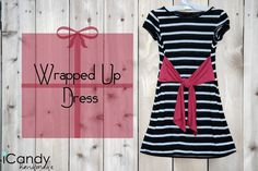icandy handmade: (tutorial) Wrapped Up Dress