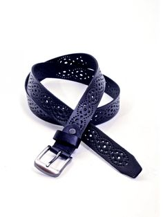 Miss Bennett Belt in Onyx