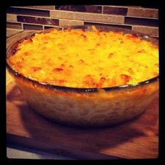 Sunny Anderson's Spicy Mac & Cheese - awesome!!