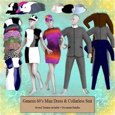 152 Genesis 60's Mini Dress & Collarless Suit Part 1