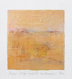 Apr. 24 2017  Original Abstract Oil Painting  9x9 painting