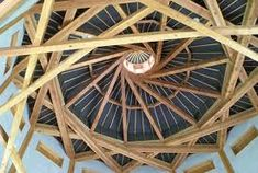 The Reciprocal Frame Roof - Nu Yurt Tents