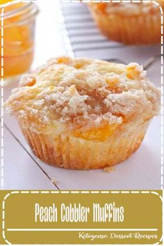 These Peach Cobbler Muffins are the perfect sweet snack! This is such an easy re… These Peach Cobbler Muffins are the perfect sweet snack! This is such an easy recipe that taste's just like Grandma's peach cobbler! Food Cakes, Cupcake Cakes, Baking Cakes, Bread Baking, Baking Soda, Baking Muffins, Baking Recipes Cupcakes, Mini Cheesecake Recipes, 6 Cake