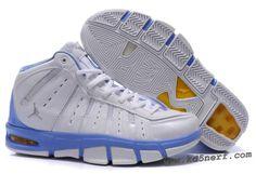 d22dce489d31 Jordan Melo M7 Carmelo Anthony Shoes White Blue Jordans For Men