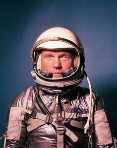 LIFE: Astronaut John Glenn in a Mercury progra... - Hosted by Google
