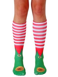 71 best santas stash images on pinterest coupon codes inked shop santas little helper loves these elf shoes knee high socks fandeluxe Gallery