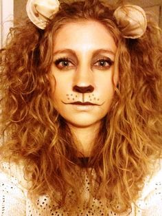 Lion Makeup Halloween Costume